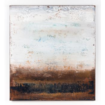 Brown abstract painting AF692