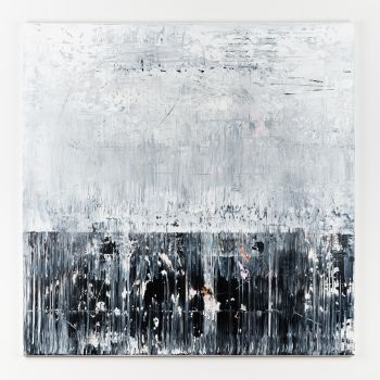 Black&White Abstract painting BH411