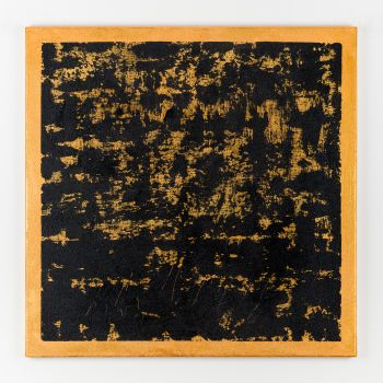 Gold abstract painting BJ262