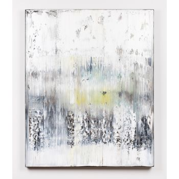 White abstract painting BR115
