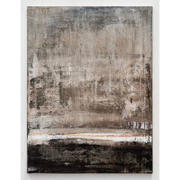 CE388 Brown abstract painting