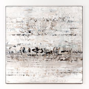 White abstract painting CM741