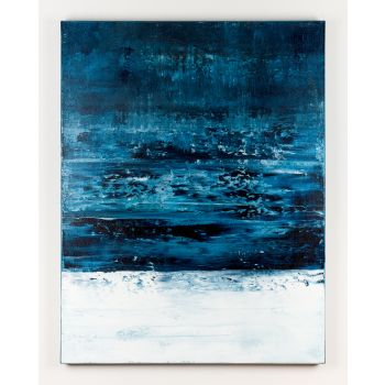 Blue abstract painting DB712