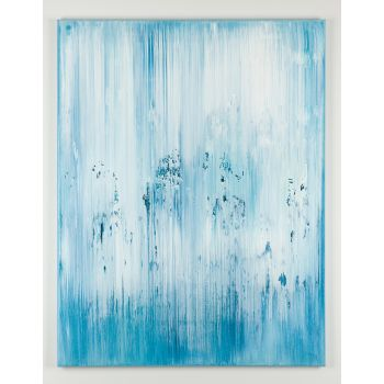 Blue abstract painting DN835