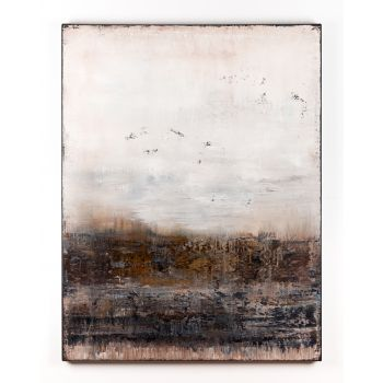 Brown abstract painting FK154