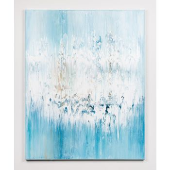 Blue abstract painting GF136