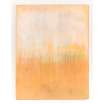 Mustard abstract painting HJ317