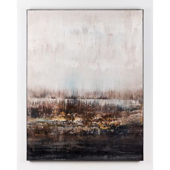 Brown abstract painting IG461