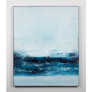 Blue abstract painting KR191