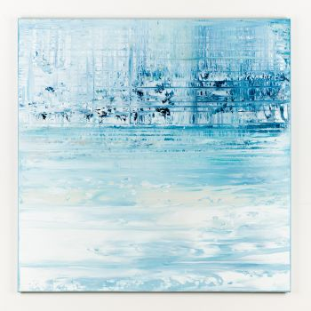 Blue abstract painting LG431
