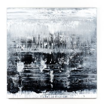 Black&White Abstract painting MA931