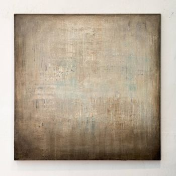 MC612 Brown abstract painting