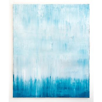 Blue abstract painting MS503