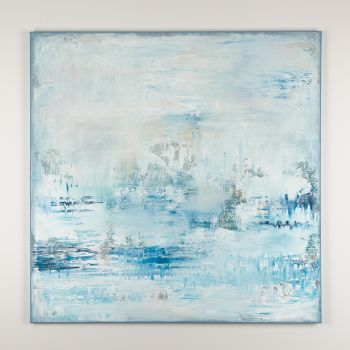 Blue abstract painting PN623