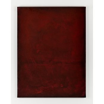 Red abstract painting RO336