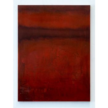 SF827 Red abstract painting