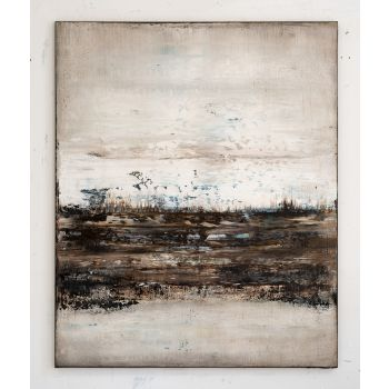 Brown abstract painting SW749