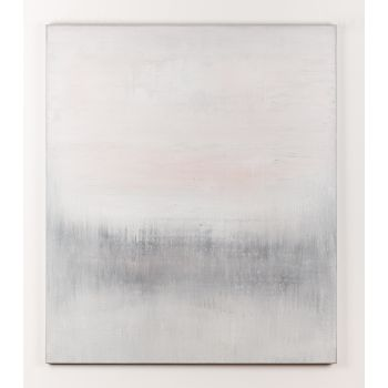 Grey abstract painting WK522