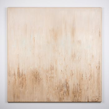 Beige abstract painting ZC683