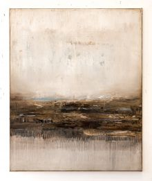 Brown abstract painting DH207