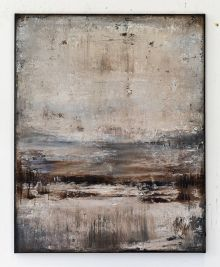 Brown abstract painting VA766