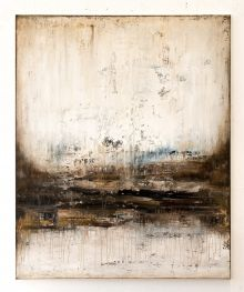 Brown abstract painting ZM870